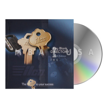 KEY BLANK DIRECTORY - 12TH EDITION - CD VERSION