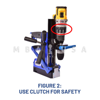 """MAGNETIC DRILL PRESS UNIVERSAL ADAPTER FOR 3/8"""" DRILL"""