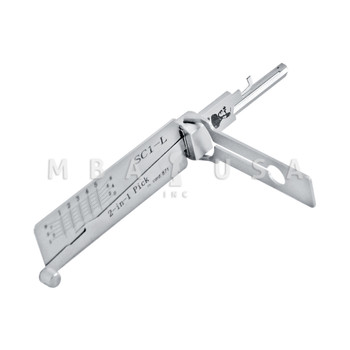 ORIGINAL LISHI 2-in-1 TOOL FOR SCHLAGE 5-PIN, LEFT HAND