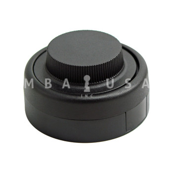 Kaba-Mas CDX-10 Lock Package w/ #1 Strike, Black Finish, Pedestrian Door Application