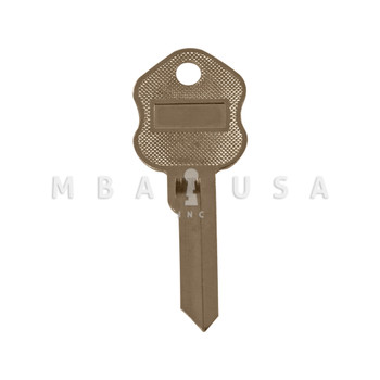 ILCO KEY BLANK FOR KUMAHIRA/SECURITY CORP BX LOCKS (C KEYWAY, 6-PIN)