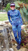 MARINA BLU Unisex Patterned Lycra Diving Suit