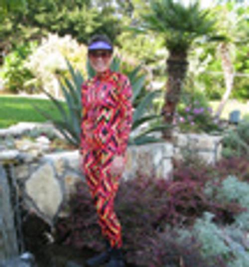 FLAME Unisex Patterned Lycra Diving Suit