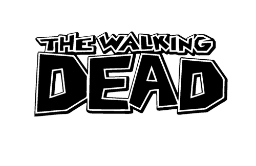 Zombie The Walking Dead Comic Book Logo