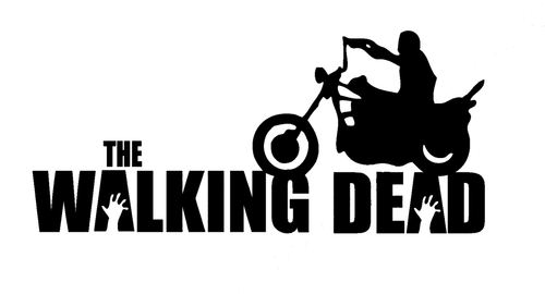 Zombie The Walking Dead Daryl Dixon Motorcycle