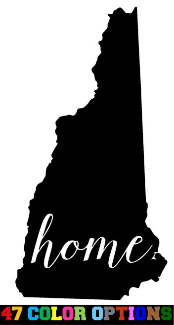 Home State Outline USA New Hampshire