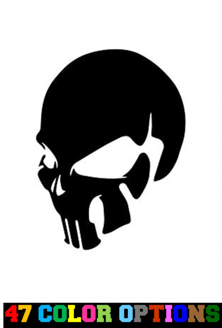 Horror Zombie Halloween Profile Skull