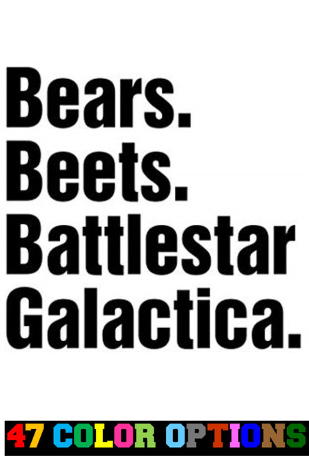 The Office Bears Beets Battlestar Dwight