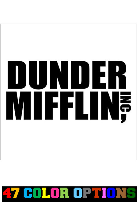 The Office Dunder Mifflin Paper CO