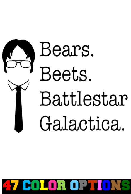 The Office Dwight Beers Beats Battlestar v2