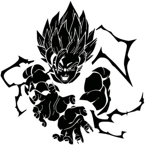 Dragon Ball Z Super Saiyan Goku