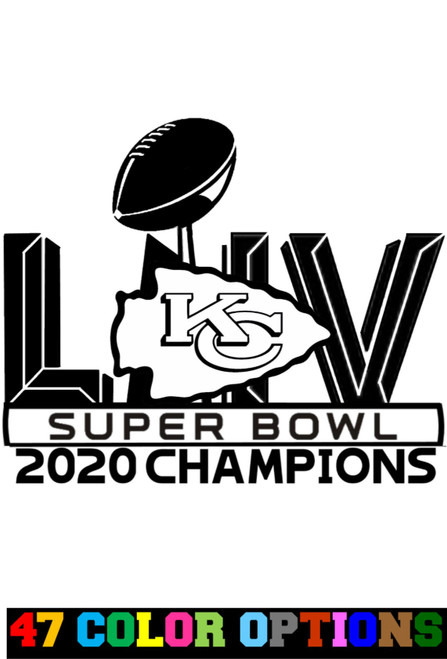 NFL Super Bowl LIV 54 Kansas City Chiefs