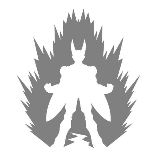 DIY Art Project Paint Reusable Stencil Silhouette - Dragon Ball Z Perfect Cell