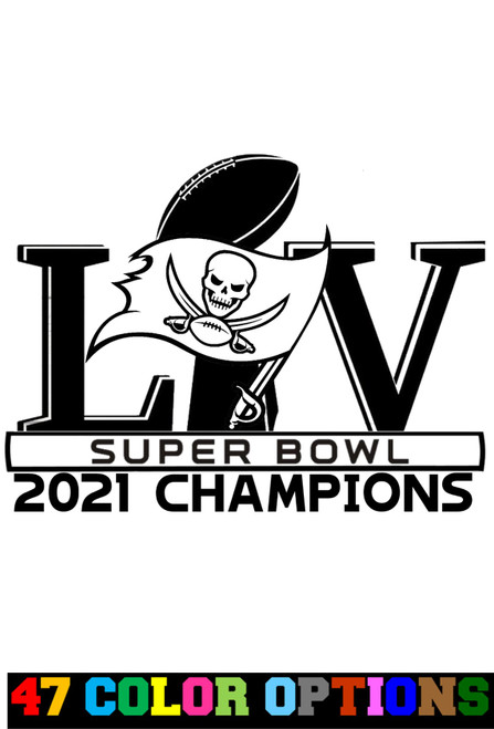 2021 NFL Super Bowl LV 55 Tampa Bay Buccaneers Champions