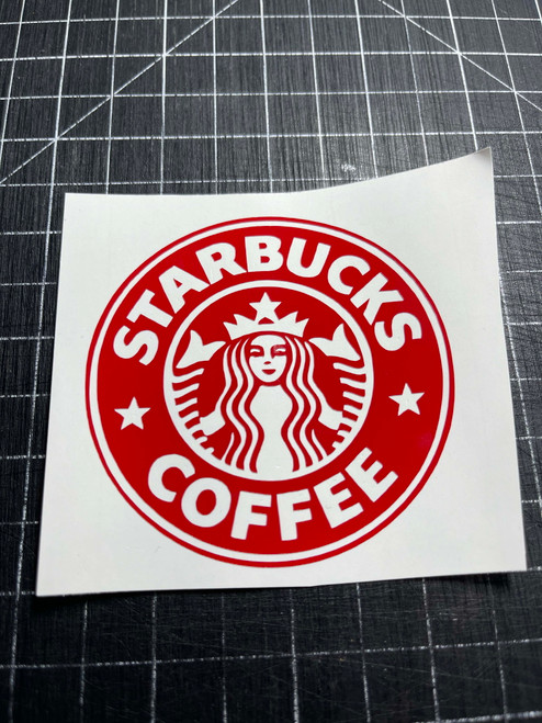 Starbucks Decal
