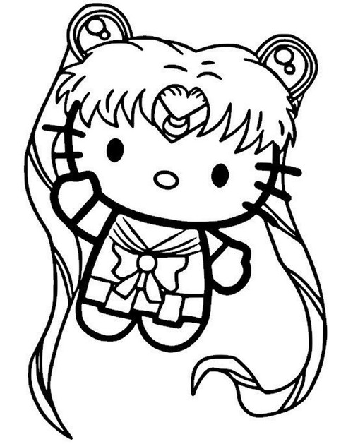 Hello Kitty Sailor Moon