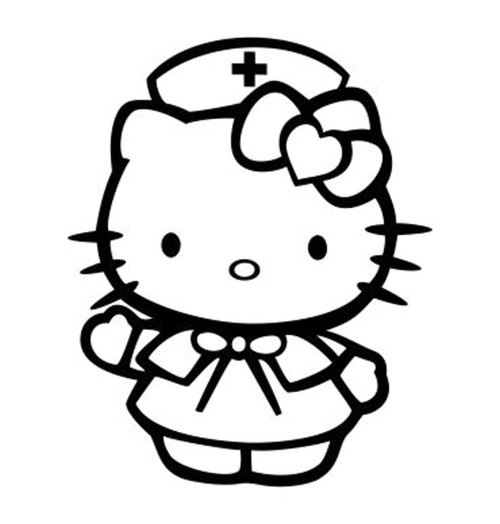 Hello Kitty Nurse v2