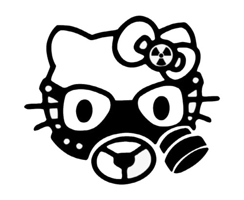 Hello Kitty Biohazard Mask