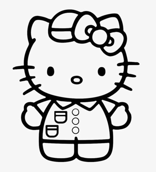 Hello Kitty Nurse