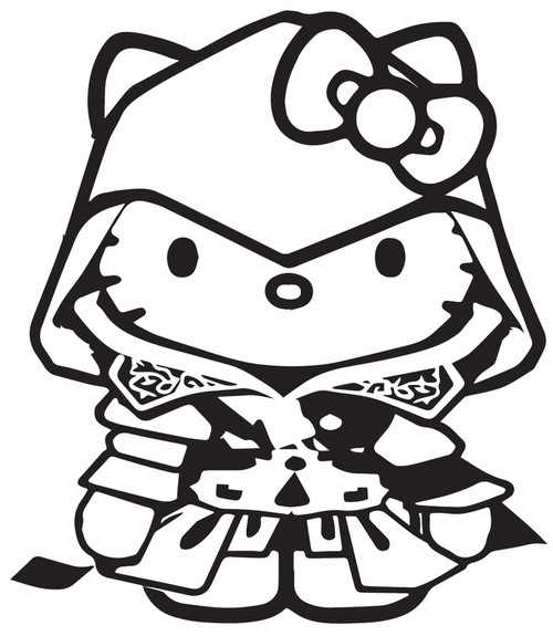 Hello Kitty Video Games Assassins Creed
