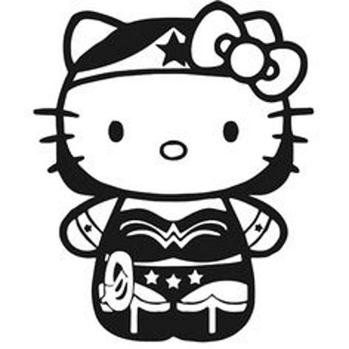 Hello Kitty DC Wonder Woman