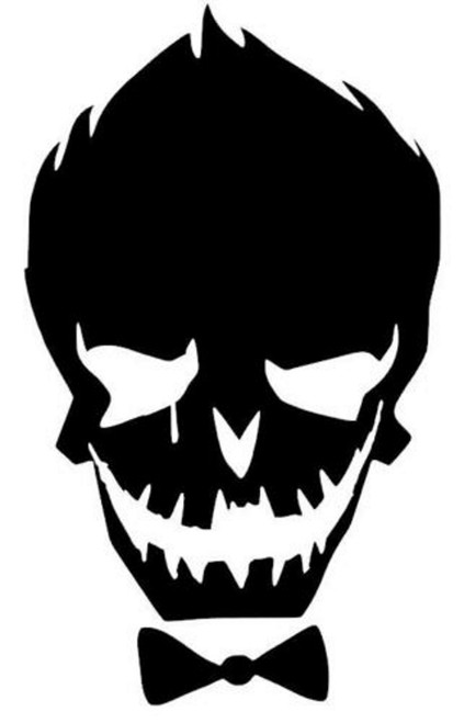 DC Batman Joker Skull
