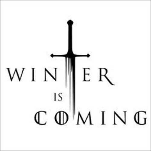 Game Of Thrones Winter Is Coming v2