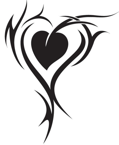 Tribal Heart Love