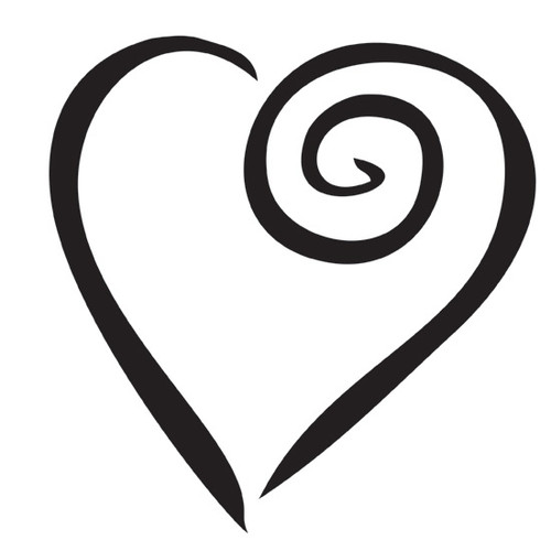 Swirl Heart Love