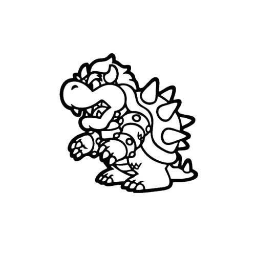 Video Games Super Mario Bowser