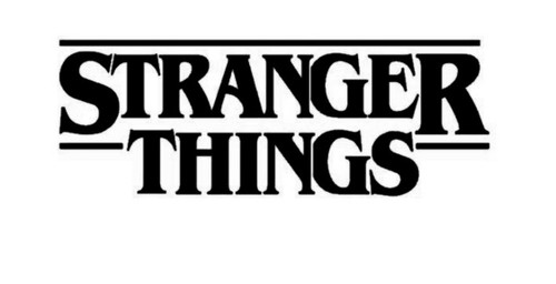 Television TV Stranger Things Logo