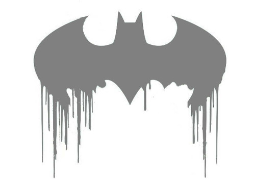 DIY Art Project Paint Reusable Stencil Silhouette Batman Joker HaHa Symbol