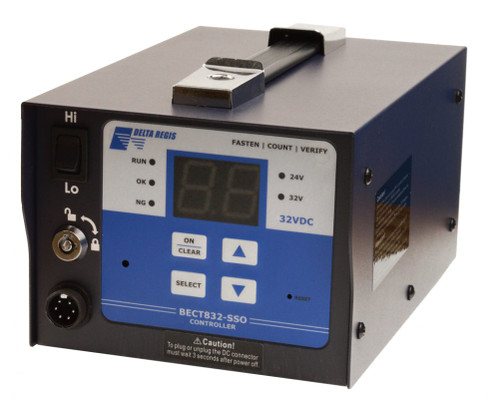 Delta Regis BECT840N-SSO | Counting Controller for 828/829, 100–240VAC, 6.3A Input, Hi/Lo Speed, 40/32/24VDC, 200W Output