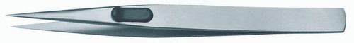 Gedore 1881655, Precision tweezers, flat, satin non-glare finish