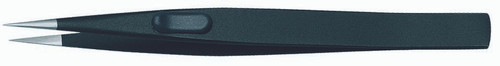 Gedore 1881663, Precision tweezers, flat, satin non-glare finish, ESD