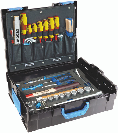 Gedore 2658194, GEDORE-Sortimo L-BOXX 136 with assortment Mechanic, 58-pc