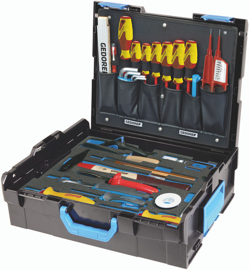 Gedore 2658208, GEDORE-Sortimo L-BOXX 136 with assortment Electrician, 36-pc