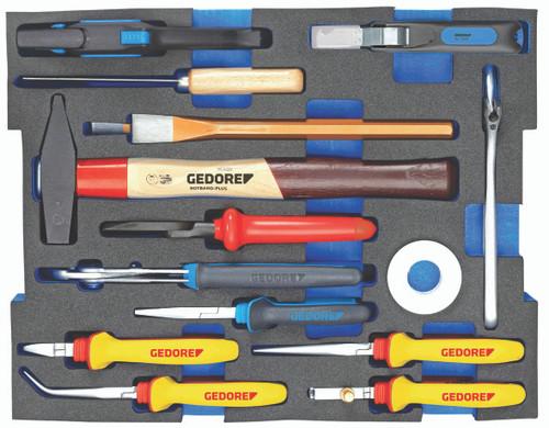 Gedore 2936836, Assortment Electrician, in 2/2 L-BOXX 136 Module, 15 pcs