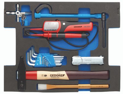 Gedore 2940604, Assortment Installation, in 2/2 L-BOXX 136 Module