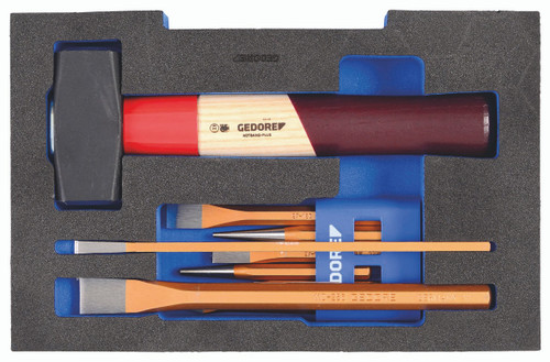 Gedore 2835932, Chisel Set, in 1/2 L-BOXX 136 Module