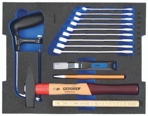 Gedore 2835967, STARTER Tool kit in 2/2 L-BOXX 136 Module