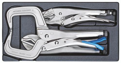 Gedore 2188198, Grip wrench set in 1/3 ES ES tool module