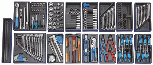 Gedore 2657708, Tool trolley with 207-piece tool assortment