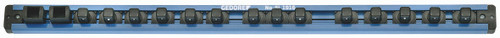 """Gedore 1761102, Tool holding rail 1/2"""", magnetic, 580 mm"""