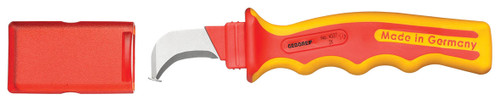 Gedore 2661489, VDE Cable knife with hooked blade