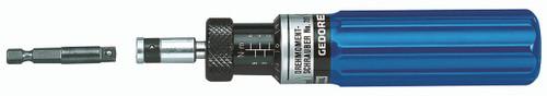 "Gedore 7718130, Torque screwdriver S 1/4"" 1.2-6 Nm"
