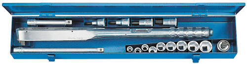 Gedore 7683590, Torque wrench DREMOMETER BC in a sheet-metal case