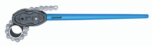 """Gedore 4535360, Chain pipe wrench, American pattern 1/8-2"""""""