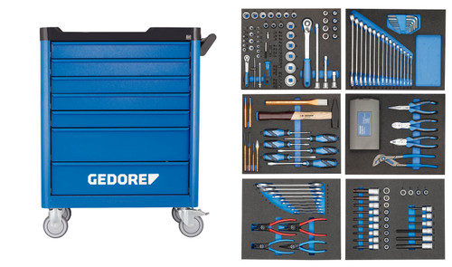 Gedore 2980320, Tool Trolley with assortment