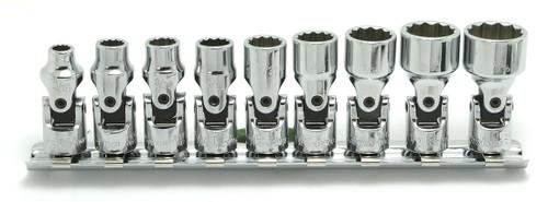 "Koken RS2445A/9 | 1/4"" Sq. Drive, 12-point Universal Socket Set"